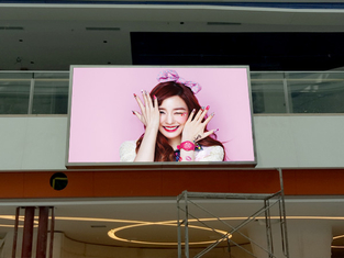 Advertising Board Led Wall Screen Display Outdoor P6 1R1G1B For Rental / Fixed